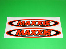 MAXXIS TIRES MOTORCYCLE MOTOCROSS UTV ATV QUAD BMX BICYCLE SCOOTER STICKERS ^