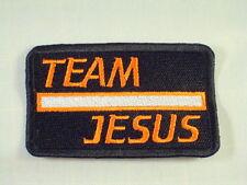 TEAM JESUS  Biker Vest Patch