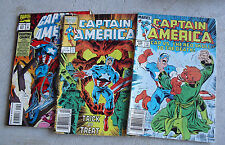 Lot of 3 Marvel Captain America Comic Books 300 326 427