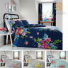 ALICE Luxuries Floral Flowers Reverse Printed Duvet Cover,PillowCase Bedding Set