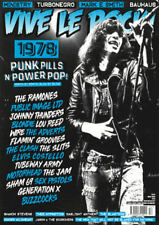 VIVE LE ROCK ISSUE 52 - March 2018 - '1978 Special' Ramones, PIL, Bahuahs, Slits
