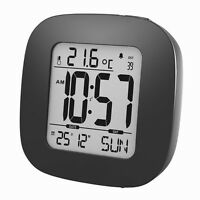 Digital Uhr Wanduhr 12/24 Stunden Datum Kalender Alarm Timer Snoze Wecker Neu