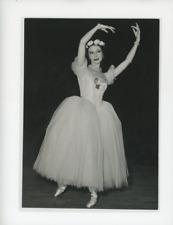 """Alicia Markova au Théâtre de l'Empire dans """"Pas de quatre de Pugni"""" Vintage"""