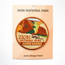 Official Zion National Park Junior Ranger Souvenir Patch Utah Halloween costume