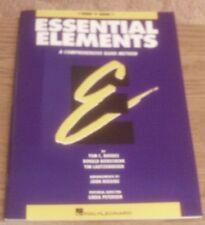 Essential Elements Comprehensive Band Method F Horn Book 1