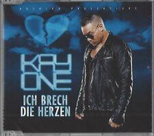 KAY ONE / ICH BRECH DIE HERZEN * NEW SINGLE-CD 2010 * NEU