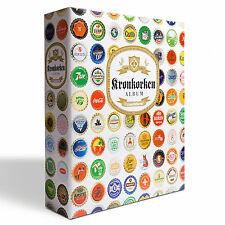 Album pour capsules de bière- GRANDE, avec 5 Feuilles COMPART réf 314779.