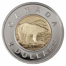 🇨🇦 Canada 2 (Two) Dollars $2 Coin, Toonie, 🐻 Polar Bear, 2007