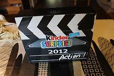 coffret ou  présentoir publicitaire  Kinder surprise 2012 asterix barbie