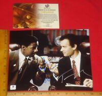 Denzel Washington Broderick Freeman  Glory autographed 8x10 photo RP