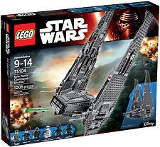 Lego 75104 Star Wars Kylo Ren's Command Shuttle (BRAND NEW SEALED) RETIRED SET