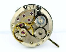 Mathey Tissot ETA 2512-2 Manual Wind Watch Movement Running