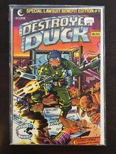 Destroyer Duck #1 Eclipse Comics JACK KIRBY! 1st App. of Groo! (1982)