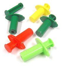 5 X Plástico Arcilla Extrusora Pistola Jeringa Set Sal Masa Plastilina Craft modelización