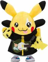 Pokemon Center Original Plush Doll Band Festival Pikachu JAPAN IMPORT
