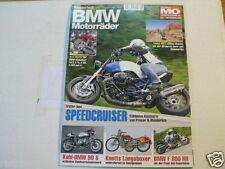 BMW MOTORRÄDER MOTORRAD SONDERHEFT MO NO 38 KNOTTS,KOHL 90S,F800 RR,SPEEDCRUISER