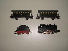 Märklin HO Dampflok CM 800 , Tender BR 24   und 2 Wagen  für bastler