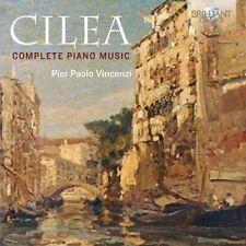 PIER PAOLO VINCENZI - COMPLETE PIANO MUSIC  2 CD NEW+ CILEA,FRANCESCO