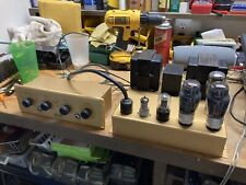 Rare Leak Point One Tl/10 Mono block Tube Amplifier And Pre-Amp Recapped Working