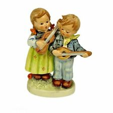 "New ListingHummel Goebel Figurine ""Happy Days"" 150 2/0 Signed 1957 (4 1/4"") Hausmusik"