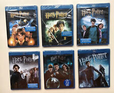 Harry Potter Blu Ray Lot Of 6 Movies New & Sealed Fire Phoenix Prince Blu-ray HP