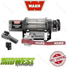 89040 Warn Vantage 4000 4,000 lbs Winch with Long Wire Rope for Side x Sides