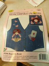 New listing Rose Garden Accents-Fabric Appliques & Accessory Kit - 1997 Raggedy Rosie #59206