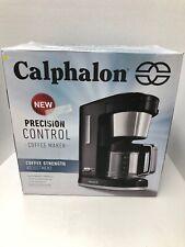 Calphalon Matte Black Precision Control 10 Cup Coffee Maker BVCLDCG3
