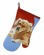 Golden retriver Gundog Cooks Oven Glove Gauntlet tmodern art Shooting Gift