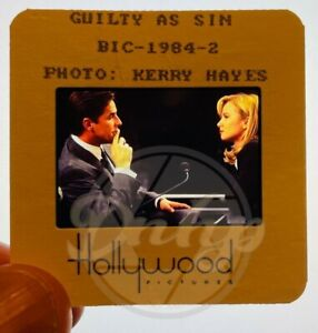 GUILTY AS SIN Johnson De Mornay 2x2 (1 film cell) Hollywood Pictures 1993