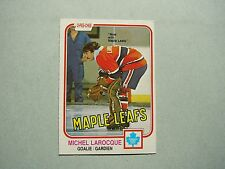1981/82 O-PEE-CHEE NHL HOCKEY CARD #319 MICHEL LAROCQUE EX/NM SHARP!! 81/82 OPC