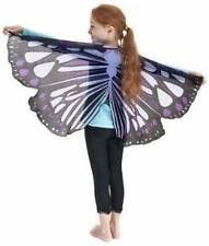 NWOT $28 NOA POA PURPLE BUTTERFLY WINGS COSTUME BY DREAMY DRESS UPS - Free Size