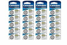 20 x Camelion CR2032 2032 3V Lithium Car Key Fob Coin Batteries Long Expiry Date
