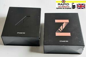 Empty box for Samsung Z Fold 2 5G SM-F916B 256GB Genuine UK