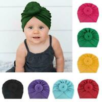Baby Toddler Girl Kid Bunny Rabbit Bow Knot Turban Hair-Band-Headwrap Headb P8E3