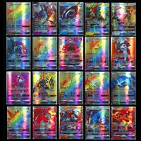 200pcs  carte 195 GX Toutes 5 MEGA Holo Flash Art Trading Cards Cadeau