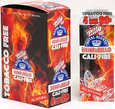 Hemparillo Cali-Fire Hemp Wraps Rolling Papers (15 Packs / Full Box) 60 Wraps