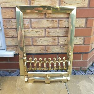 Focal Point Gas Fire  Trim And Fire Front In Brass