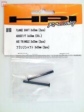 HPI 86168 Asse Flangiato 3x33mm (2) Flanged Shaft modellismo