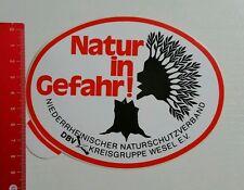 Aufkleber/Sticker: Natur in Gefahr - DBV Kreisgruppe Wesel e.V. (180516181)
