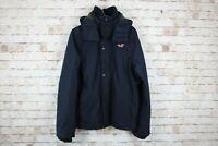Hollister Navy Jacket size M