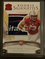 2020 Chronicles Draft Picks Rookie Silhouettes Jonathan Taylor Patch /10!!