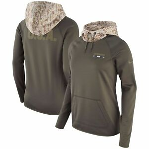 Dallas Cowboys Nike Women's Salute to Service Performance Pullover Hoodie -