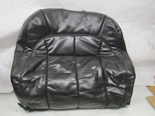 Jeep Grand Cherokee WJ 99-04 OS right front leather seat cover seat back black