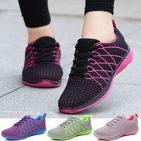 Womens Running Sneakers Lightweight Tennis Casual Breathable Gym Sport Shoes US