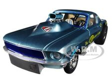 1967 FORD MUSTANG MALCO GASSER LTD 900 PCS 1/18 DIECAST MODEL CAR BY GMP 18879