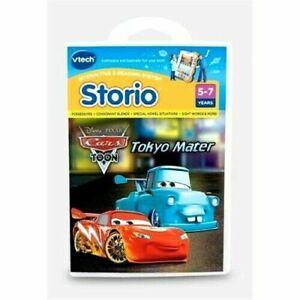 Vtech Storio Disney Pixar Cars Toon Tokyo Mater Interactive E-Reading System Toy
