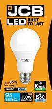 Paquete de 5x 15w LED GLS E27 Ópalo 6500k 1560lm's ( JCB s10996 )