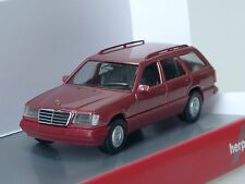 Herpa Mercedes e 320 T-Modello (W 124), BORDEAUX MET. - 038553 - 1/87