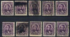 Canada #146(4) 1927 5 cent violet THOMAS D'ARCY McGEE 10 Used CV$50.00